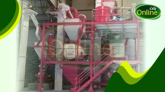 راه اندازی کارگاه تولید خوراک دام و طیور